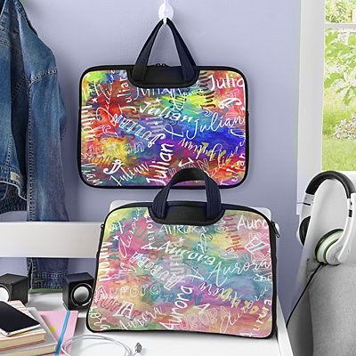 Paint Splatter Laptop Carrying Bag
