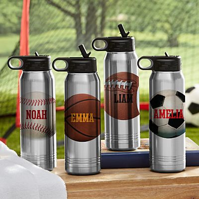 All Star Sports Stainless Steel Water Bottle