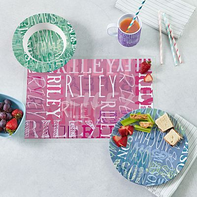 Signature Style Personalized Tableware