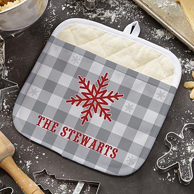 Snowflake Wishes Pot Holder