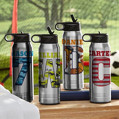 Their Own Name Stainless Steel Water Bottle