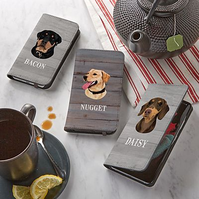 Dog Breed Phone Folio Case
