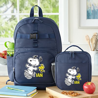 PEANUTS® Happy Dance Backpack Collection - Navy