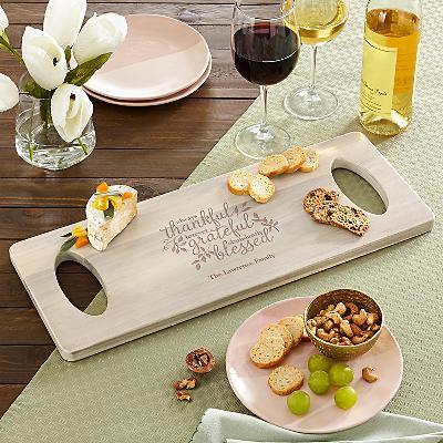 Always Thankful Cheese Board