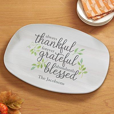 Always Thankful Platter