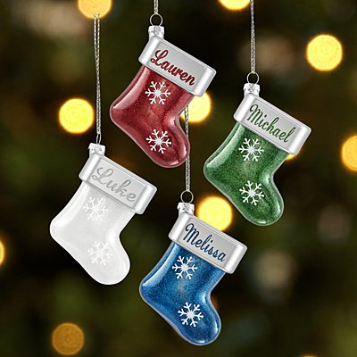 Birthstone Stocking Ornament