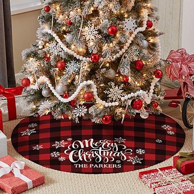 Cozy Christmas Tree Skirt