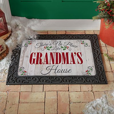 Our Favorite Place Holiday Doormat
