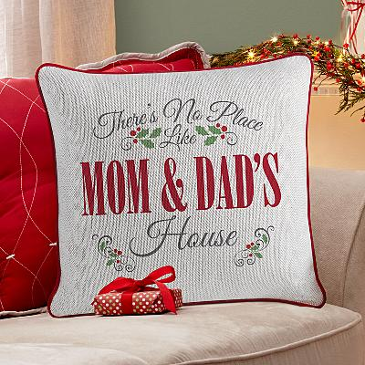 Our Favourite Place Christmas Cushion