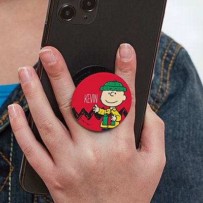 PEANUTS® Charlie Brown™ Gift PopSockets PopGrip®