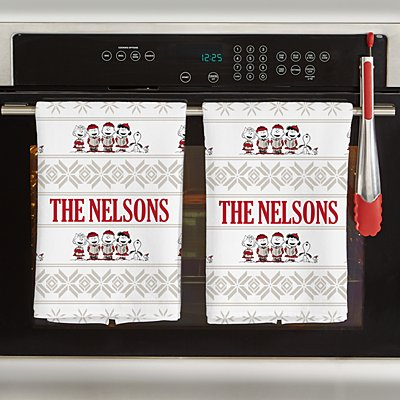 PEANUTS® Classic Caroling Kitchen Towel