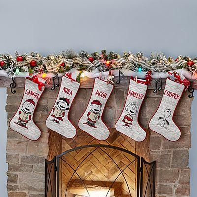 PEANUTS® Classic Caroling Stockings