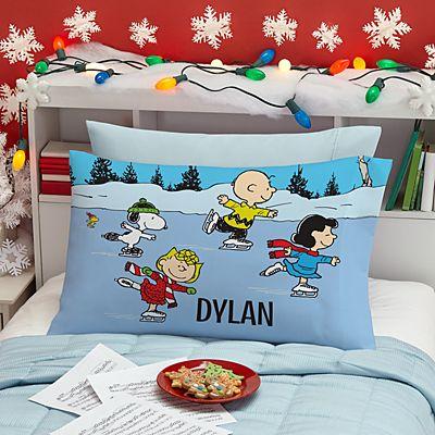 PEANUTS® Ice Skating Friends Pillowcase