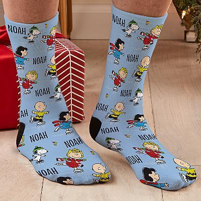 PEANUTS® Ice Skating Friends Socks