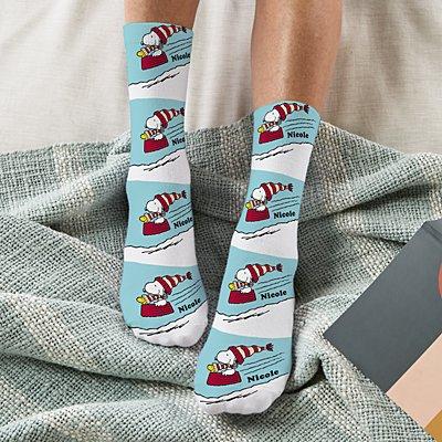 PEANUTS® Sledding Buddies Socks