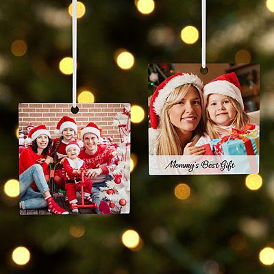 Picture Perfect Photo Square Ornament
