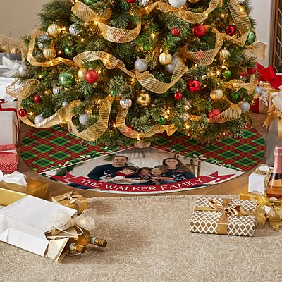 Picture Perfect Photo Tree Skirt