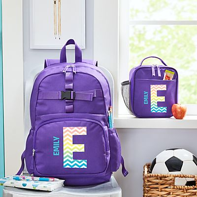 Pretty Pattern Purple Backpack Collection