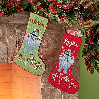Rudolph® Bumble™ Candy Cane Stocking