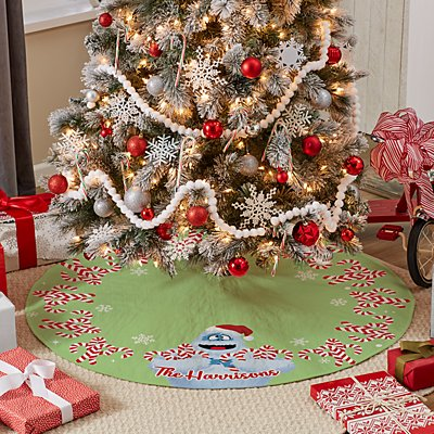 Rudolph® Bumble™ Candy Cane Tree Skirt