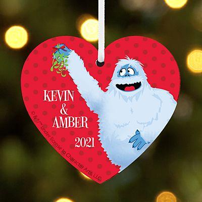 Rudolph® Bumble™ Mistletoe Heart Ornament