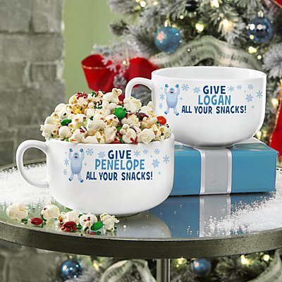 Rudolph® Give Bumble™ Your Snacks Bowl