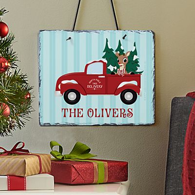 Rudolph® North Pole Delivery Slate