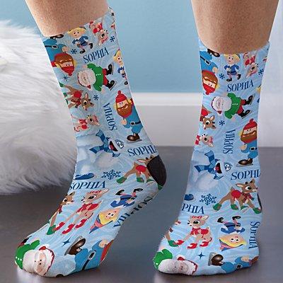 Rudolph® Skating Friends Socks
