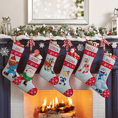Rudolph® Skating Friends Stocking