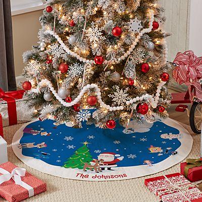 Rudolph® Winter Fun Tree Skirt