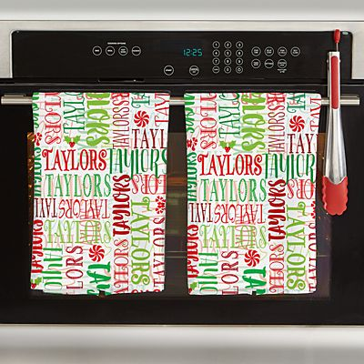 Signature Style Holiday Kitchen Towel