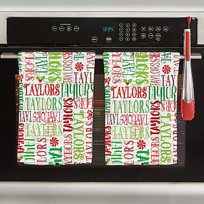 Signature Style Christmas Tea Towel