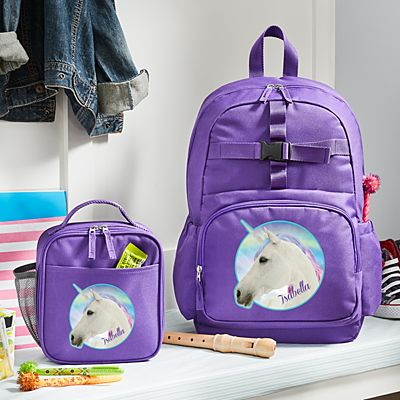 Animal With an Attitude Purple Backpack Collection