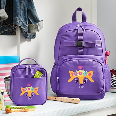 Big Face Purple Backpack Collection