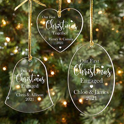 First Christmas Milestone Acrylic Ornament