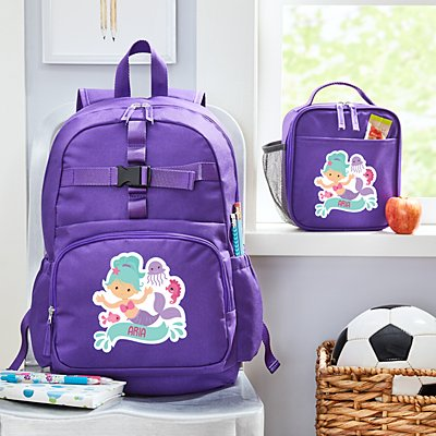 Fun Graphic Girls Purple Backpack Collection