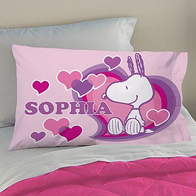 PEANUTS® Happy Heart Snoopy™ Pillowcase