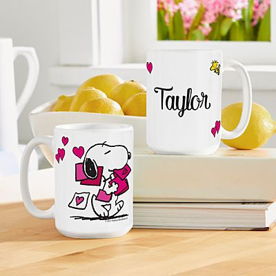 PEANUTS® Sending Love Mug