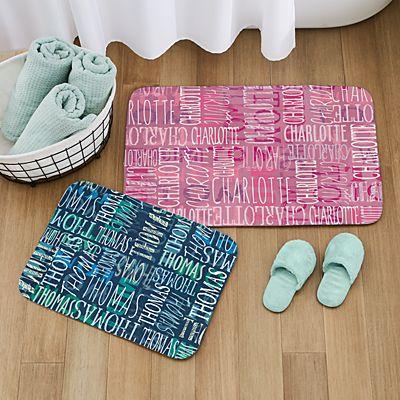 Signature Style Bath Mat