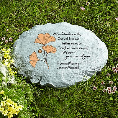 Always With Us Sympathy Stepping Stone