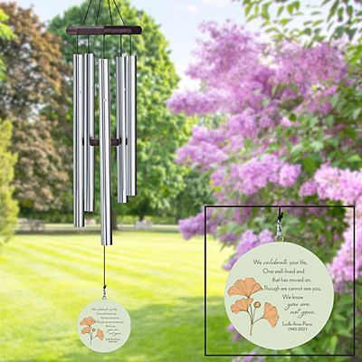 Always With Us Sympathy Wind Chime