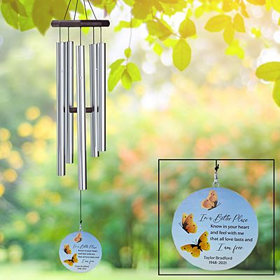 I Am Free Sympathy Wind Chime