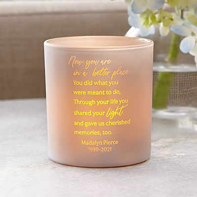 In A Better Place Sympathy LED Votive