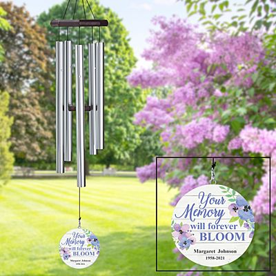 Memories Bloomed Memorial Wind Chime