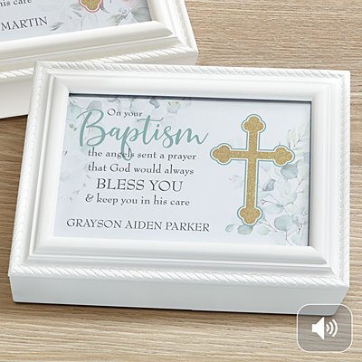 On Your Baptism Music Box
