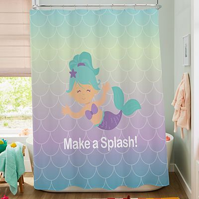 Bathtime Fun Shower Curtain