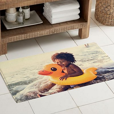Picture Perfect Photo Bath Mat
