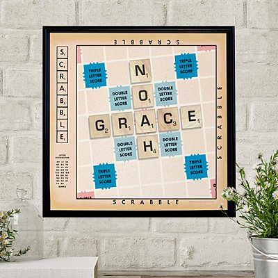 Scrabble®  Couple Canvas