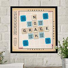 Scrabble®  Couple Canvas