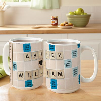 Scrabble®  Couple Mug